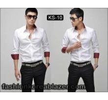 Kemeja Putih Korea Style IDR : Rp 245.000