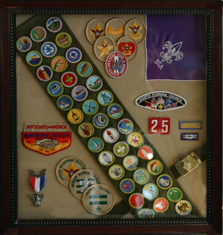 boy scout uniform shadow box - Google Search