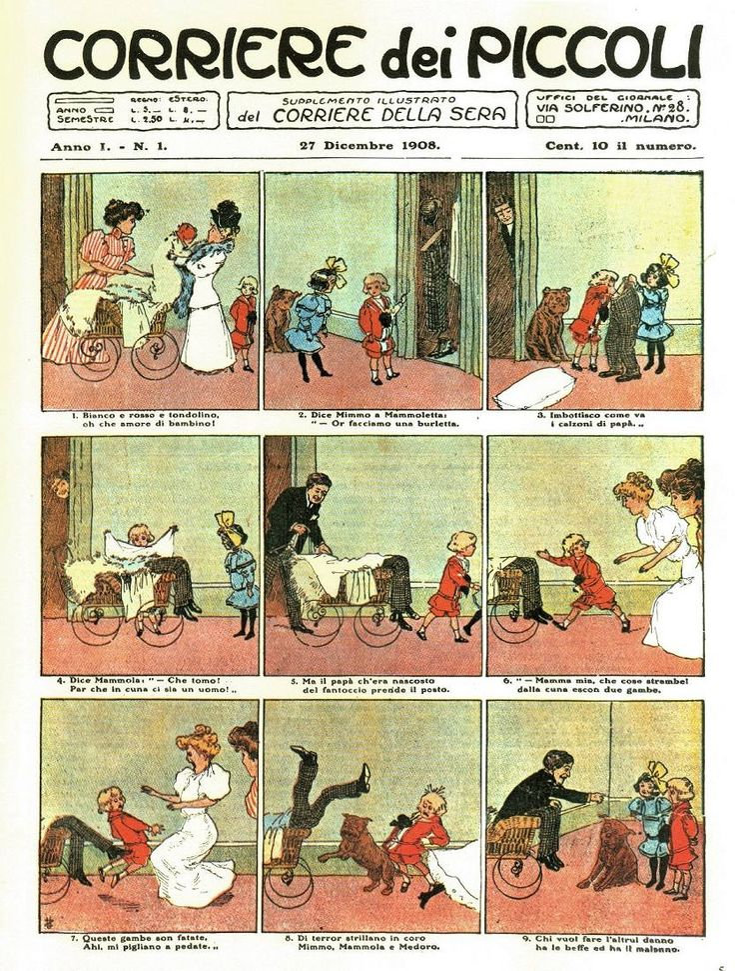 Corriere dei Piccoli n. 1 - 1908
