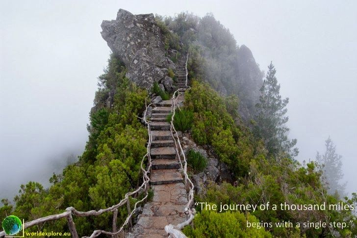 The #journey of a thousand miles begins with a single step #travel #quotes