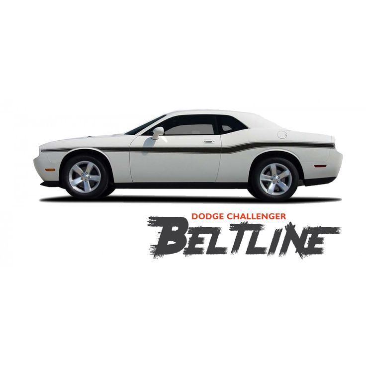 Dodge Challenger BELTLINE Mid-Body Line Accent Stripe Vinyl Graphics Decals Kit for 2010 2011  sc 1 st  Pinterest & 20 best Dodge Challenger 2008-2018 Vinyl Graphics | Racing Stripe ...