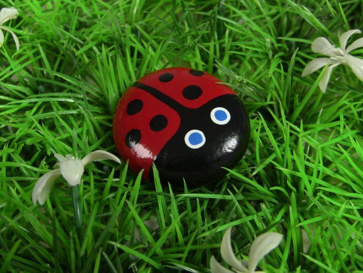 Gardening with Kids: Ladybug Rocks