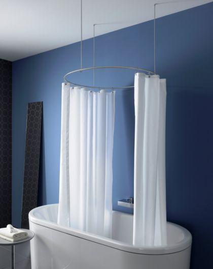1000 idee su duschvorhangstange su pinterest. Black Bedroom Furniture Sets. Home Design Ideas