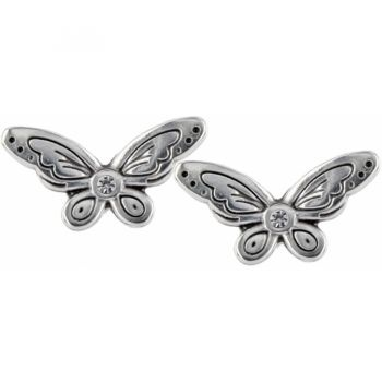 Butterfly Effect Mini Post Earrings  available at #Brighton