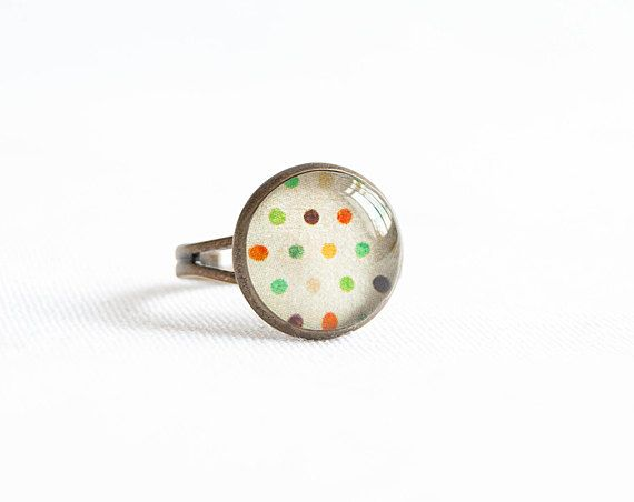 Hey, I found this really awesome Etsy listing at http://www.etsy.com/listing/111301572/colorful-ring-polka-dot-jewelry-cute