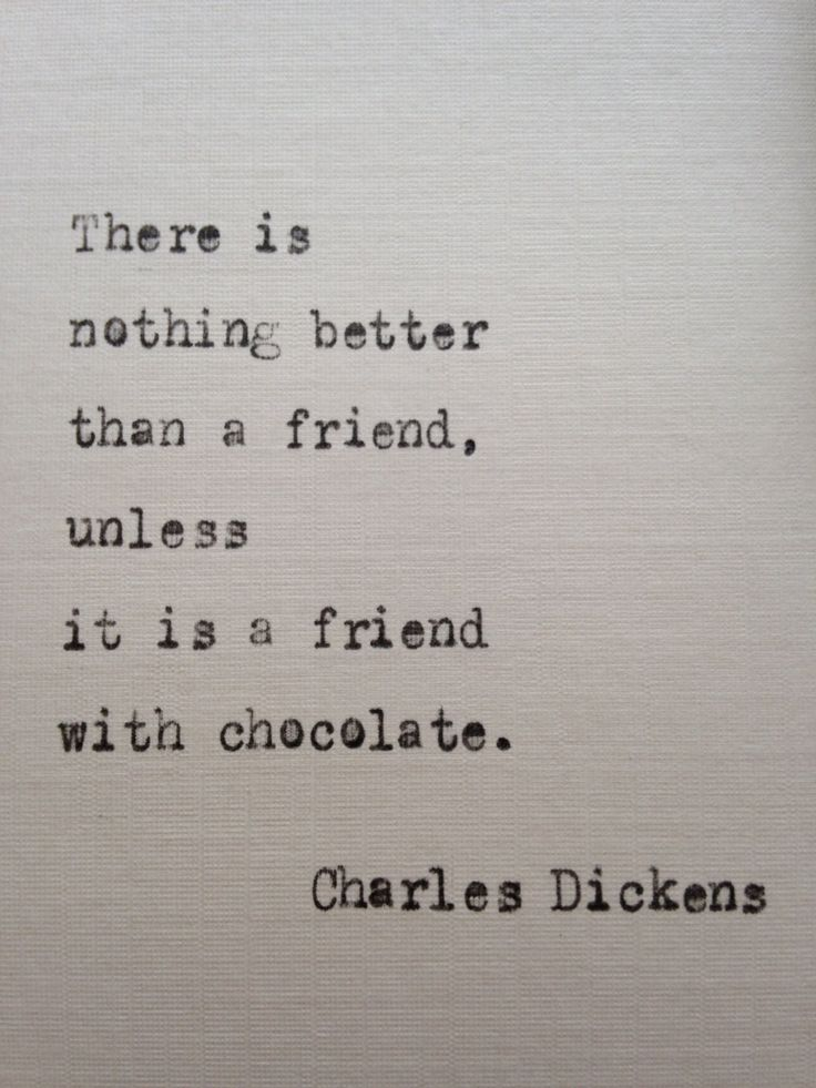 Charles Dickens quote hand typed on antique typewriter