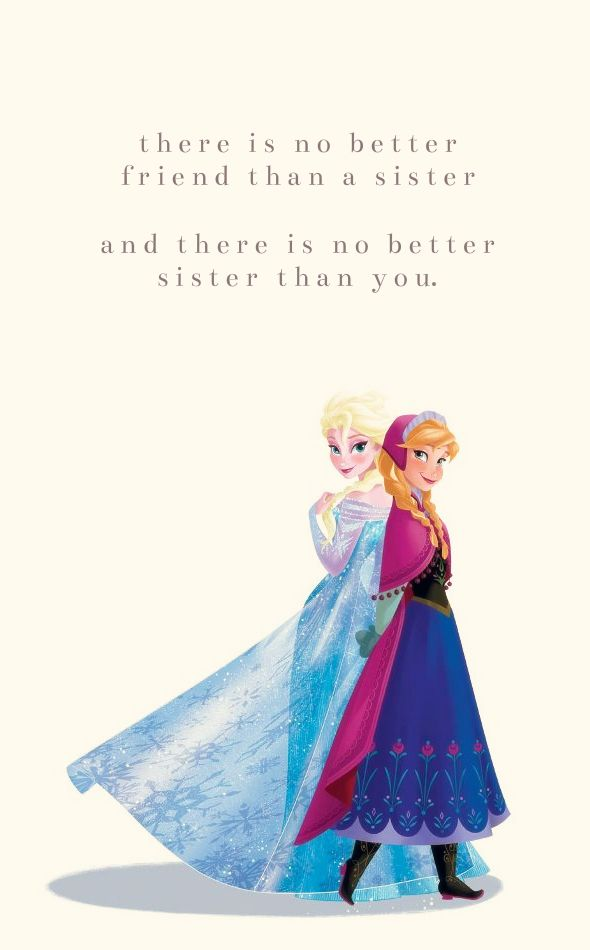sisters are just the best.