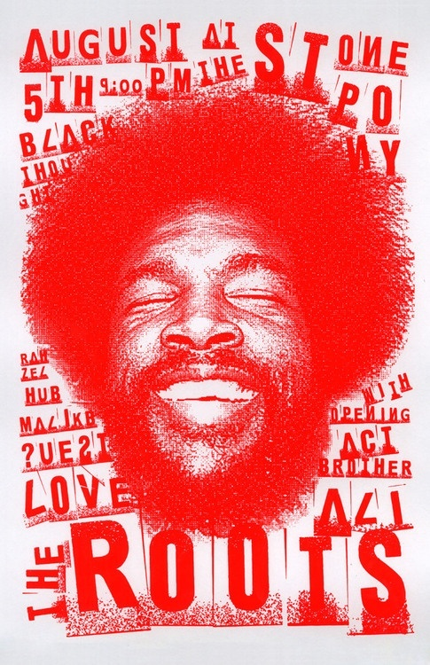 THE ROOTS: poster
