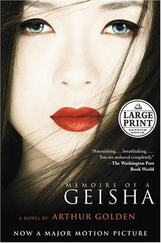 Memoirs of a Geisha by Arthur Golden  Check the library catalogue - http://10.57.128.4:2000/ais/AccessItLibrary?serviceId=ExternalEvent&brSn=4426&brKey=1203938136
