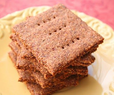 Homemade Graham Crackers    1 1/2 cups almond meal  1/2 cup flax seed meal  1/4 cup granulated erythritol  2 tsp ground cinnamon  1 tsp baking powder  1/4 tsp salt  1 large egg  2 tbsp melted butter  1 tbsp dark molasses  2 tsp vanilla