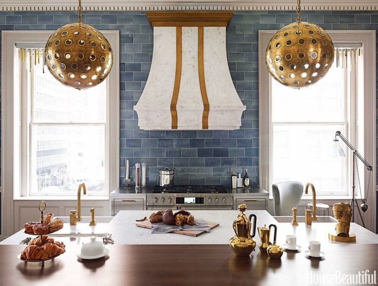 45 Insanely Chic Kitchen Backsplashes