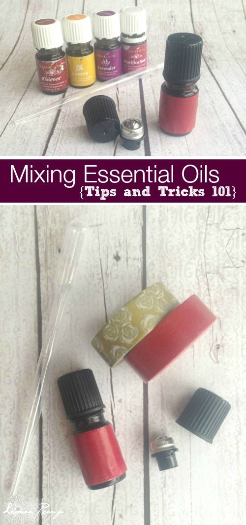 Mixing Essential Oils 101   Tips and Tricks! These are quick and easy tips for making your own Essential Oil Blends to use and to share!