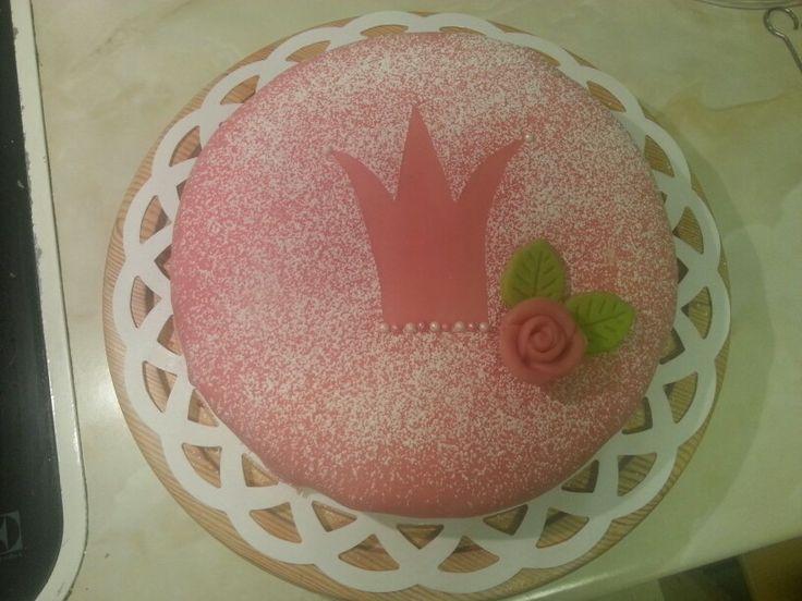 "My first ""Princess cake"""