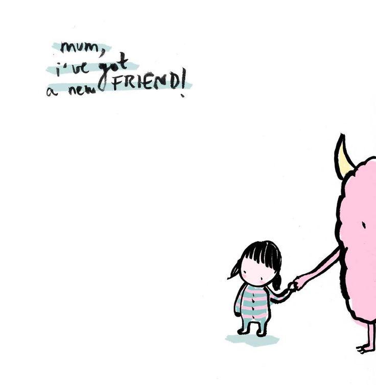 New Friend by Lyona Alyona