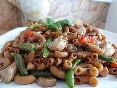 Le plaisir des papilles: Macaronis chinois au poulet