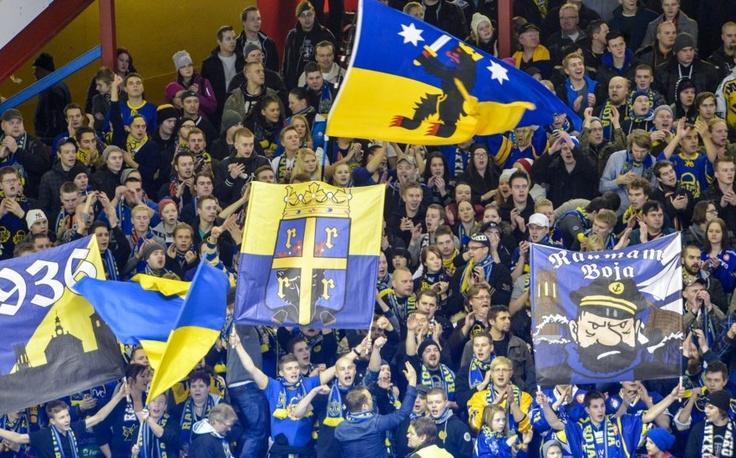Raumam Boja (supporters of Lukko Rauma) @Pori