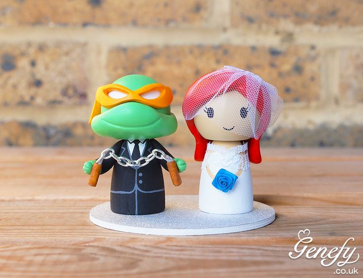16 Best Cute Tmnt Ninja Turtle Wedding Cake Topper By