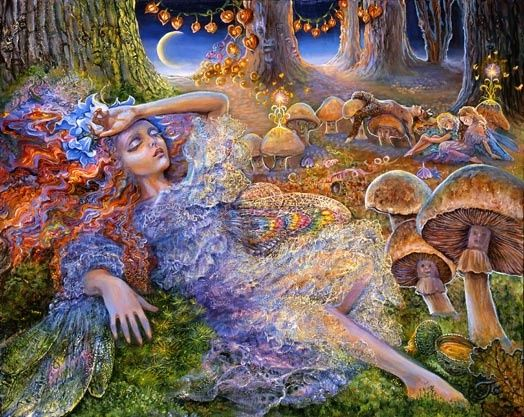 After The Fairy Ball • Josephine Wall
