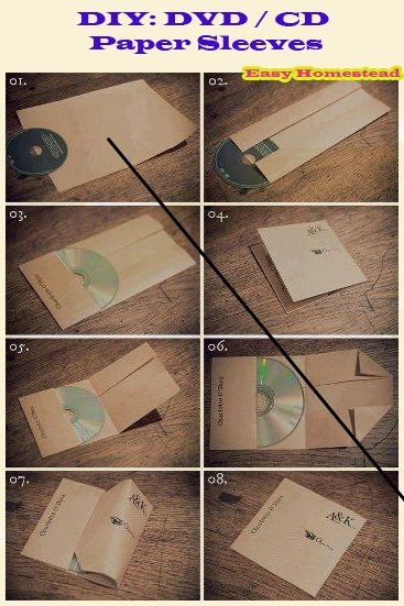 how to make a cd case cover - Akbagreenw