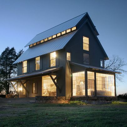 Pole Barn Home Plans | Pole Barn Home Design Ideas, Pictures, Remodel, And.  Modern BarnModern IndustrialModern ...