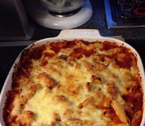 Italian chicken pasta bake |