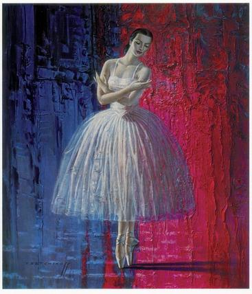 Ballerina by Vladimir Tretchikoff