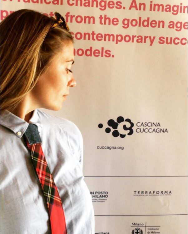 Cascina Cuccagna  #modular #accessory #neckwear #madeinitaly #noknots #tie #cravatta #man #style #double #side #eclectic #eclepti