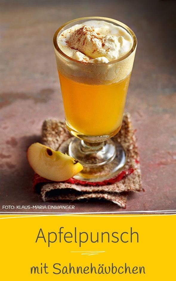 Es muss nicht immer Glühwein sein. Unser aromatisches Apfelpunsch-Rezept mit Calvados, Ingwer und Zimt ist eine edle Alternative.