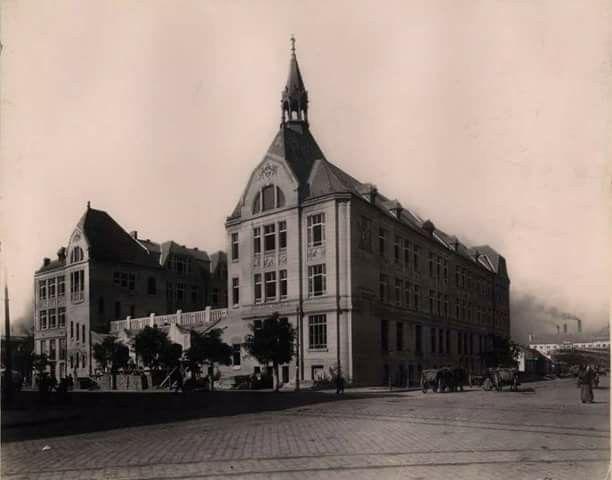 1910 elemi iskola Lehel-Dózsa György út, Angyalföld, Budapest