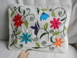almohadon bordado con lana - Buscar con Google