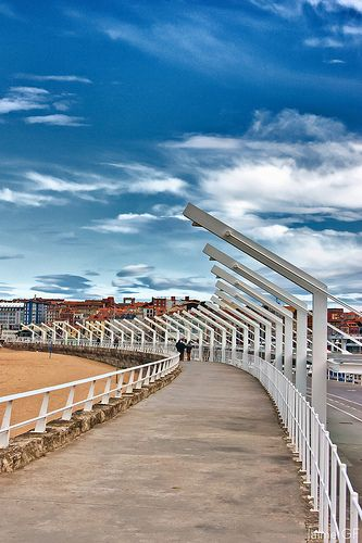 Paseo Playa de Poniente - Gijón