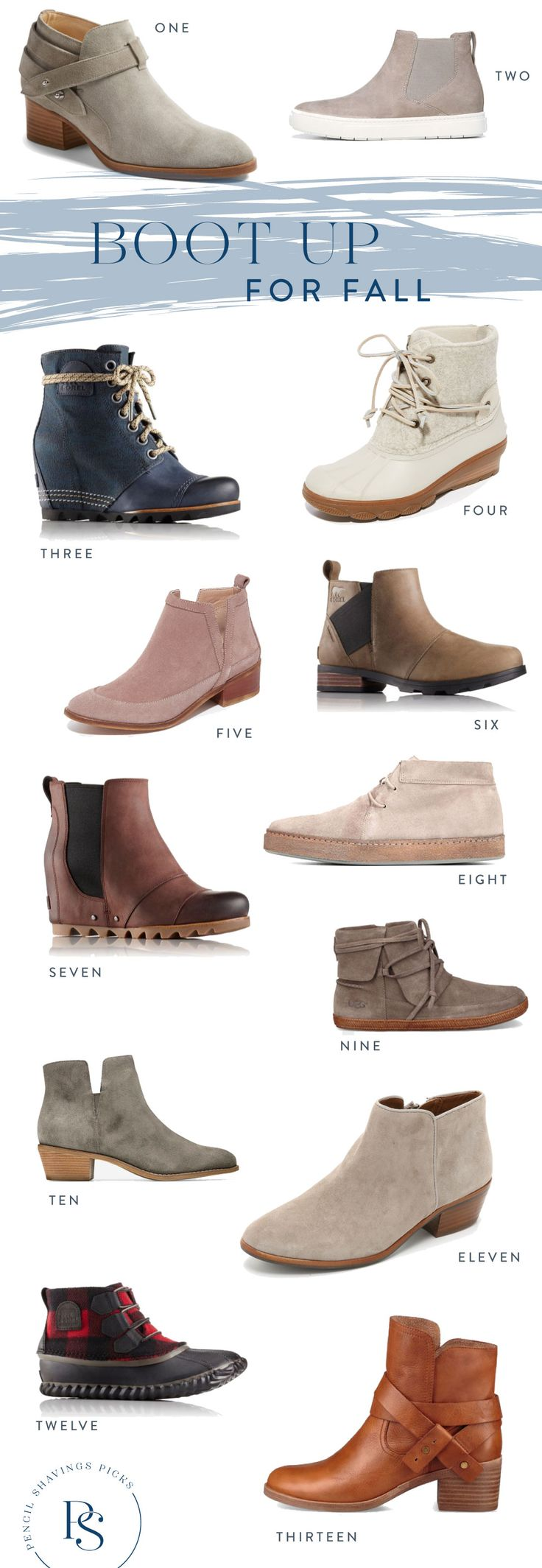 Boots! Fall weather! Scarves!  It's all on the horizon. I'm due for a boot upgrade this fall and I've got my virtual shopping carts full hither and yon.  And there are so. many. good. options and at every price point. I think I'll grab those Gap ones ASAP