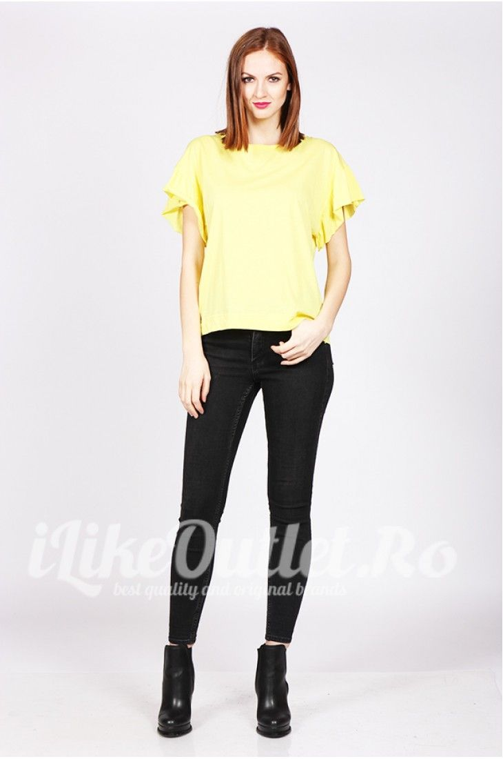 Tricou galben Sunny ZW