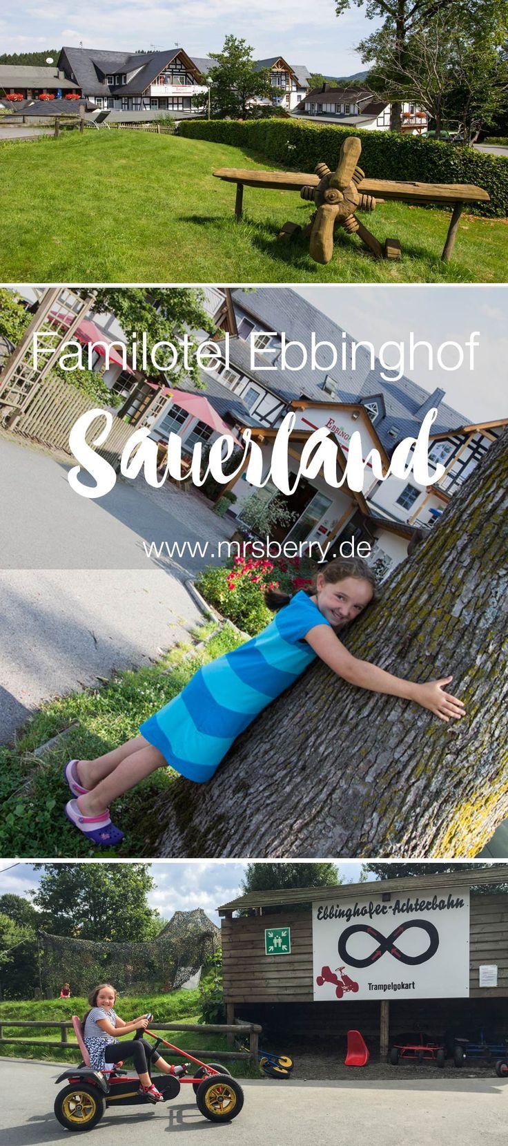 Urlaub mit Kind im Familienhotel (Familotel) Ebbinghof in Schmallenberg im Sauerland - Ein tolles Ausflugsziel für Rheinland Pfalz und Nordrhein Westfahlen (NRW)