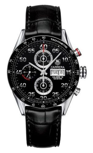BESTSELLER! TAG Heuer Men`s CV2A10.FC6235 Carrera Automatic Chronograph Day-Date Watch $2,951.26