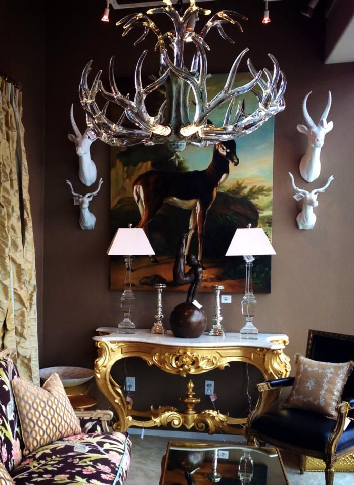 Crystal Antler Chandelier Deer Painting Lamps Chandeliers And Candlesticks Pinterest Antlers Cabin Fever