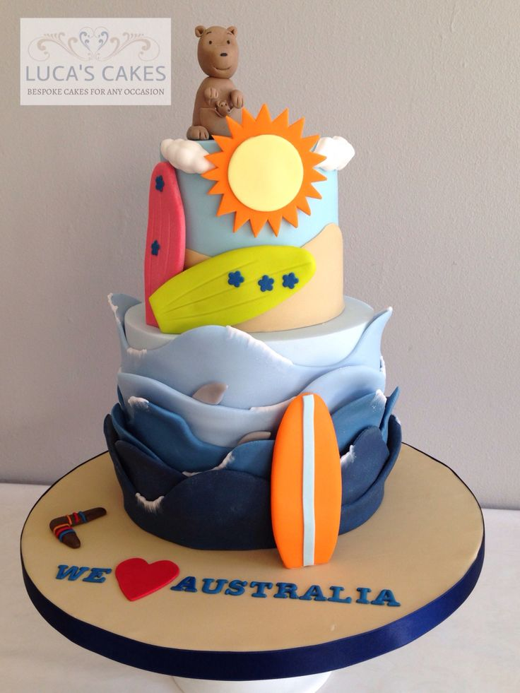 beach themed wedding cake toppers australia 45 best images about australia and gb cake on 11155