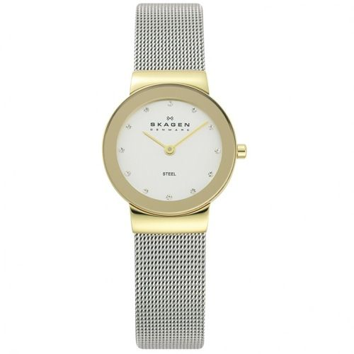 358SGSCD レディース シルバー スカーゲン(SKAGEN) 腕時計 - スカーゲン(SKAGEN)腕時計専門店   スカーゲンエリア