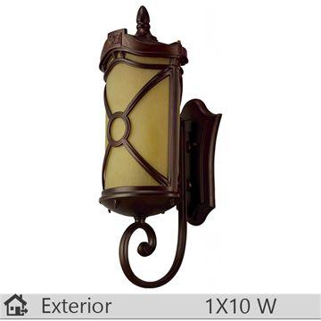 Aplica iluminat decorativ exterior Klausen, gama Dakota, model nr1 http://www.etbm.ro/tag/687/iluminat-ieftin