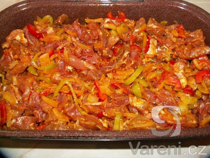 Recept Vepřová kýta gyros - Gyros peču v  troubě.