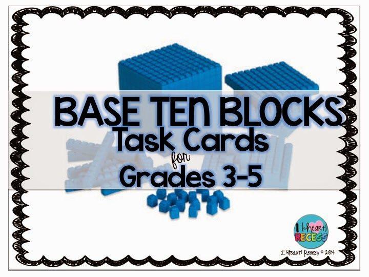 Base Ten Blocks for Upper Grades...Use Them!