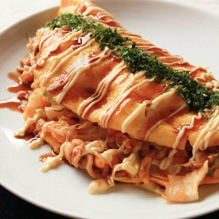 パクパク止まらない キムチのとん平焼き   料理動画(レシピ動画)のkurashiru [クラシル]