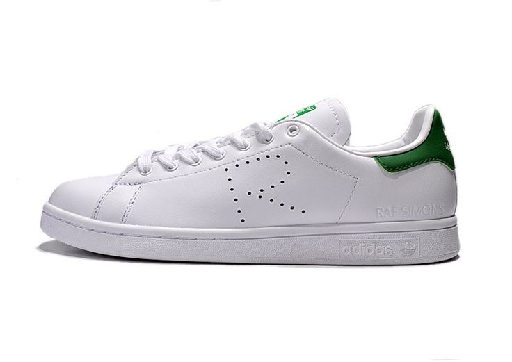 adidas x Raf Simons Stan Smith B24051 Mens \u0026 Womens Casual Shoes White  Green | Adidas Stan Smith | Pinterest | Stan smith