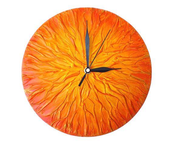 Best 10 Orange clocks ideas on Pinterest Orange c Blood orange