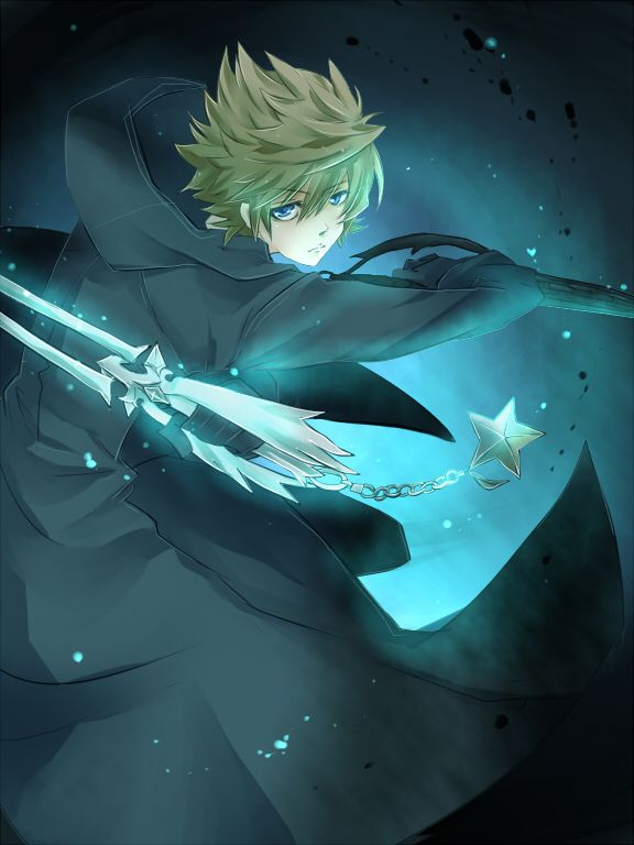 Roxas.  Quite possibly the saddest boss battle in video gaming history