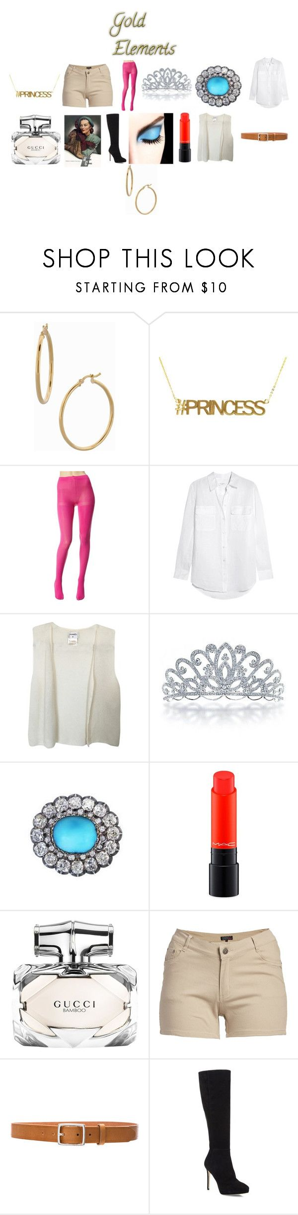 """Show Your Creativity #6 13"" by chrisone ❤ liked on Polyvore featuring Bony Levy, Betsey Johnson, Equipment, Chanel, Bling Jewelry, CORO, MAC Cosmetics, Gucci, 1826 JEANS and rag & bone"