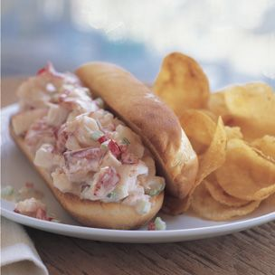 Lobster Rolls (Bay Seafood Seasoning). One thing I really miss about living in Maine.