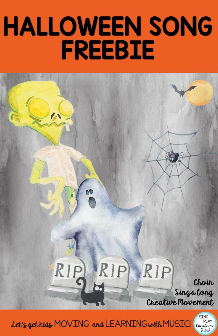 Halloween Songs and a Freebie! | Orff Lessons, Songs, Games and