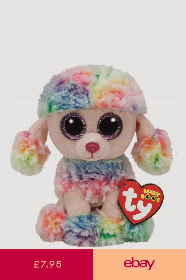 b0da6f24ba7 Ty Beanie Babies 37223 Boos Rainbow the Poodle Boo