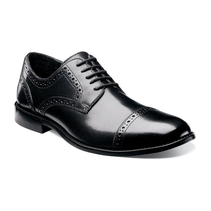 Nunn Bush Norcross Men's Brogue Dress Shoes, Size: medium (11.5), Black